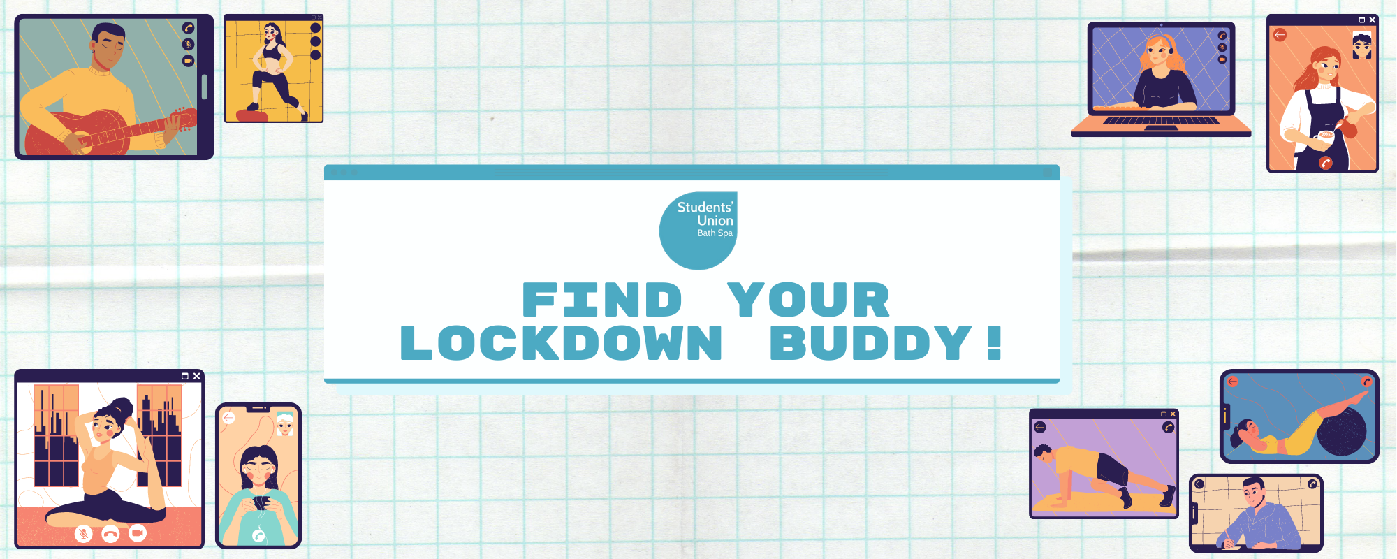 find your lockdown buddy