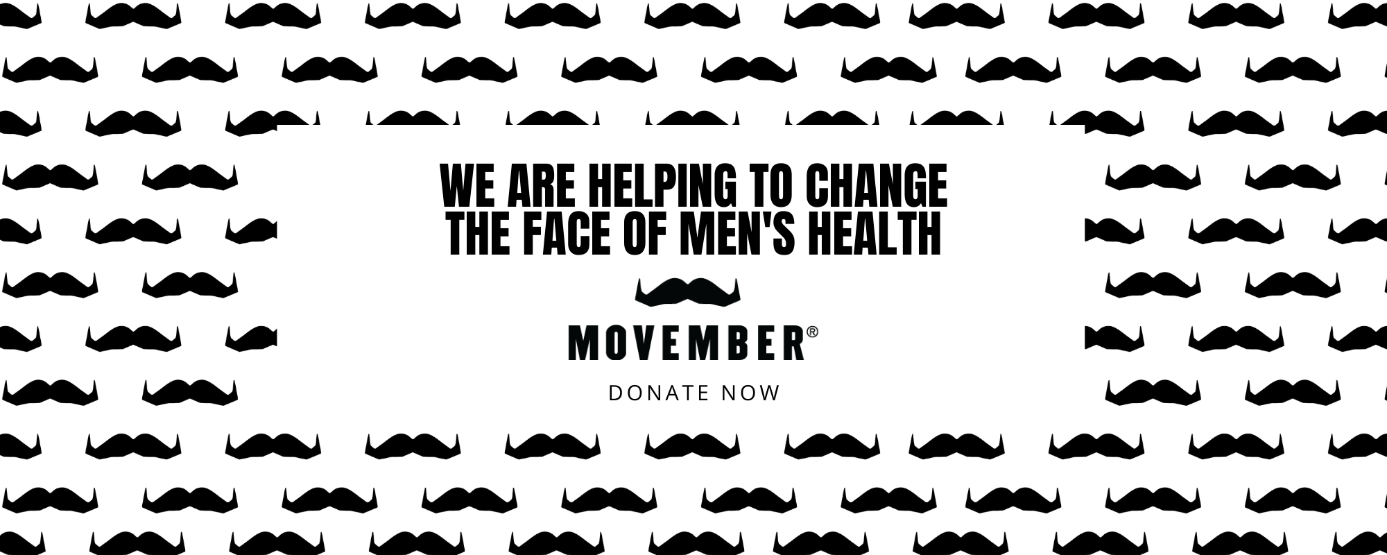 We are fundraising for Movember